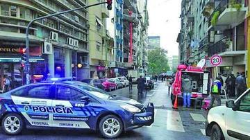 Evacúan la AFA por falsa amenaza de bomba