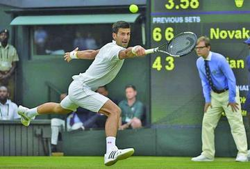Djokovic suma su trigésima victoria
