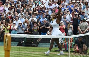 Serena logra su victoria número 300 en el Grand Slam