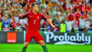Portugal y Gales disputan hoy la primera semifinal de la Eurocopa