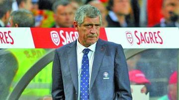 """Santos: """"si Pepe está al cien por cien jugará"""""""