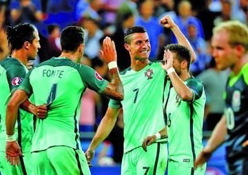 Portugal gana y clasifica a la final