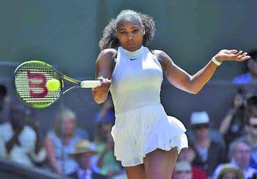 Serena clasifica a la final de Wimbledon