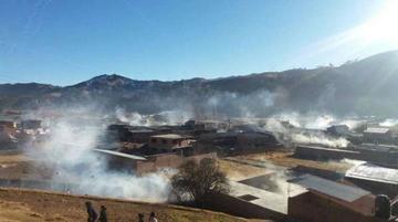 Hay 19 heridos y 20 detenidos por enfrentamientos en Colomi