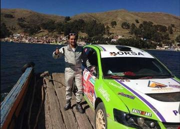 El potosino Orlando Careaga correrá en el Dakar 2017