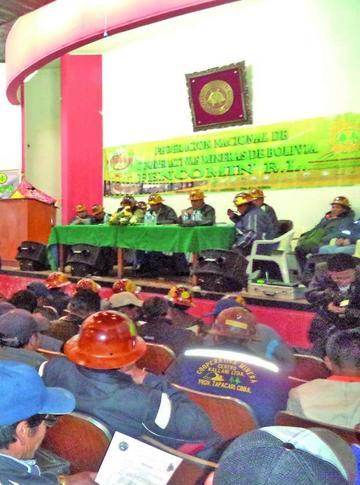 La Fencomin rechaza la sindicalización minera