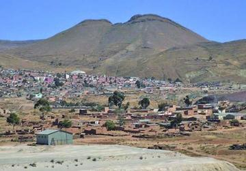 Hallan zinc superficial en la región potosina de Llallagua