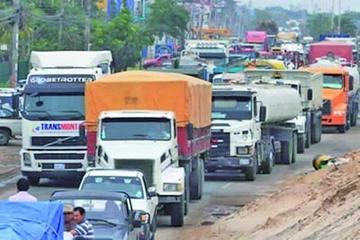 El transporte pesado ratifica bloqueo desde el próximo 18 de julio
