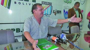 Fabol amenaza con frenar el inicio del torneo Apertura