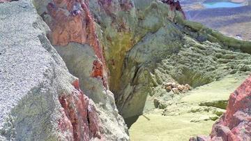 Relleno seco del Cerro Rico de Potosí está en más del 50 por ciento