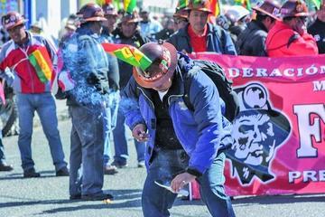 COB advierte la huelga general indefinida por el caso Enatex