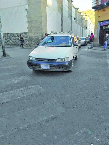 Vehículos con las placas de otras regiones están en Potosí