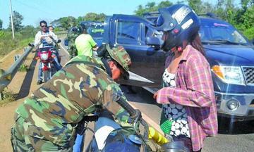 La Felcn desarrolla operativos de prevención en la frontera con Brasil