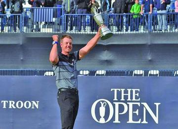 Stenson logra el título del Abierto Británico de Golf