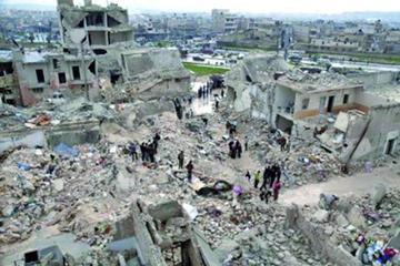 Alepo se paraliza ante el temor por el asedio militar en Siria