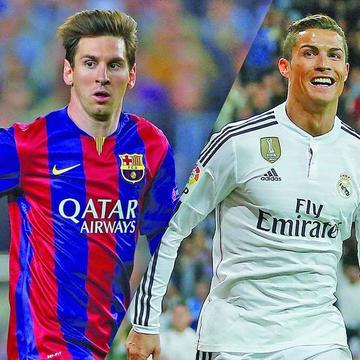 Messi y Cristiano son candidatos al mejor jugador