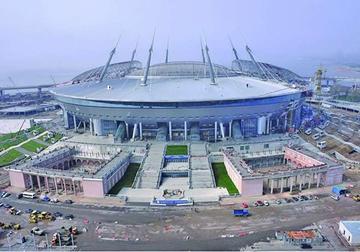 Putin ordena apurar construcción de estadio