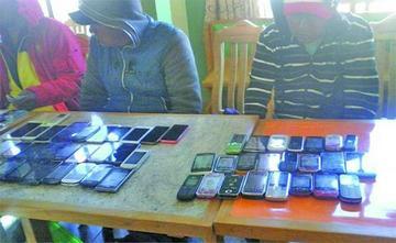 Arrestan a 10 comerciantes de celulares por el caso del periodista Sailer