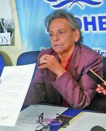 Solicitan la renuncia de la presidenta de la APDHB