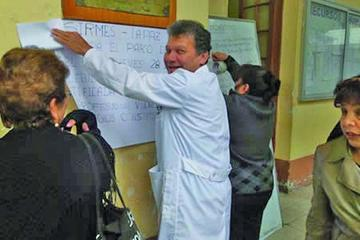 Médicos del país alistan paro de 48 horas para el 28 y 29 de julio