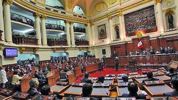 Congreso de Perú jura  para su nuevo periodo legislativo 2016 - 2021