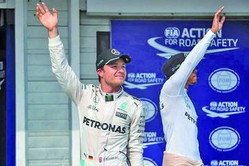 """Rosberg gana la """"pole"""" en el Gran Premio de Hungría"""