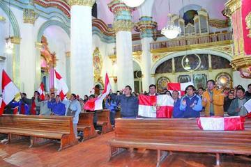 Potosí celebra con petardos y una misa el día de la Dignidad