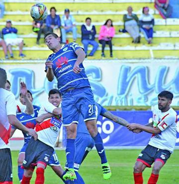 Nacional Potosí cae contra Bolívar