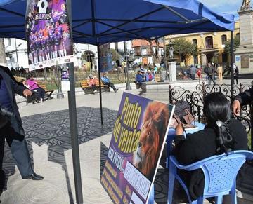 Intensifican campaña para la venta de entradas para la Sudamericana