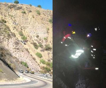 Embarrancamiento en El Retiro deja un saldo fatal de tres muertos y una persona herida