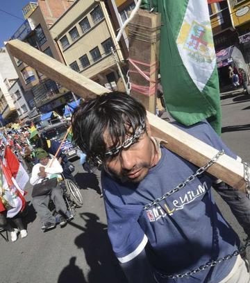 Personas con discapacidad recaudan 21 mil Bolivianos