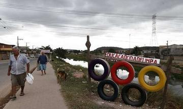 Los pobres en Brasil piden beneficios de las olimpiadas