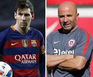 AFA anuncia reunión con Messi y Sampaoli