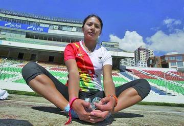 Atleta boliviana está entre las mejores del mundo