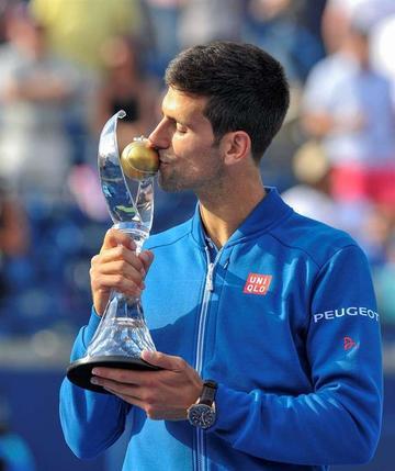 Djokovic conquista en Toronto su trigésimo Másters 1000