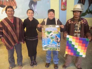 Llega a Potosí la carrera continental  pueblos indígenas jornadas de paz