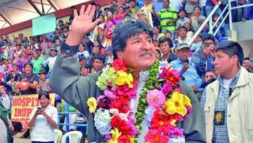 Confirman la visita de Evo Morales a la Villa Imperial