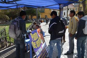 Instalan puestos de venta para la Sudamericana