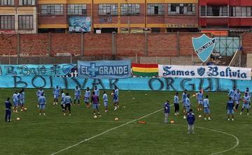 Bolívar tiene todo listo para el duelo de la Sudamericana