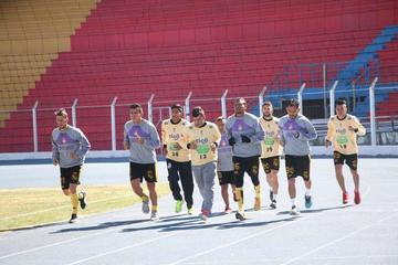 Real Potosí afina detalles para recibir mañana a los chilenos