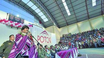 Evo Morales modifica el día de su visita a la Villa Imperial