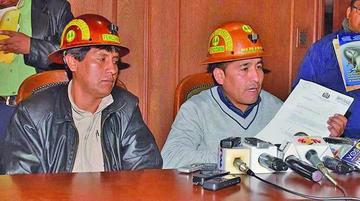 Cooperativistas mineros confirman bloqueo de caminos desde mañana