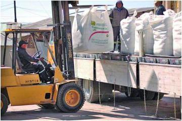 Bolivia exporta 10 toneladas de carbonato de litio a China