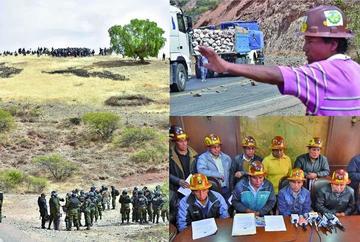 El conflicto de cooperativistas se complica tras choque con policías