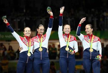 Rusia se corona campeona olímpica de sable femenino