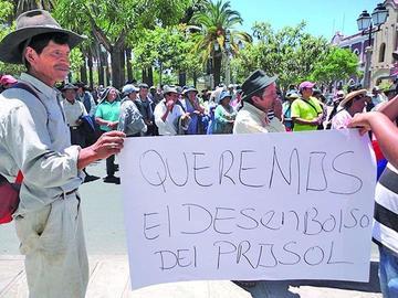 Campesinos de Tarija bloquean caminos de manera indefinida desde hoy
