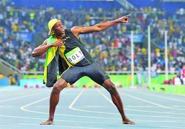 Bolt engrandece su leyenda