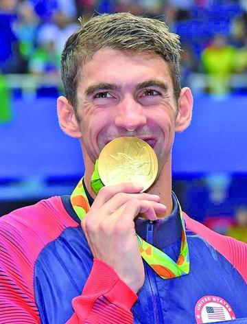 Phelps se despide como rey de Río
