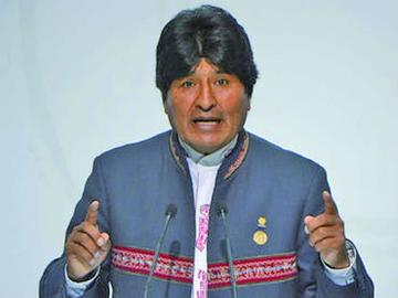 Posponen el arribo de Evo Morales a la Villa Imperial