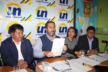Unidad Nacional echa de sus filas al concejal Luis Alberto López